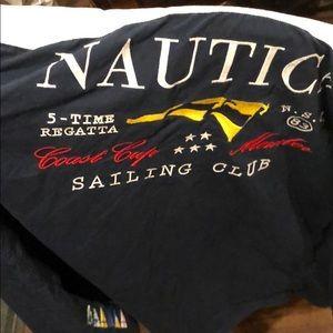 Men's vintage Nautica Regatta series button-down